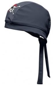 Bademütze Pirat von Playshoes mit UV-Schutz nach Standard 801 und Öko-Tex Standard 100