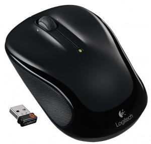 Logitech M325 optische Maus schnurlos, schwarz