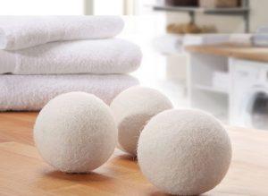 Trocknerbälle & Trocknerkugeln aus 100% echter Neuseeland-Wolle vom Anbieter Wunderfabrik